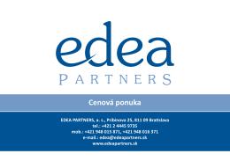 nájdete TU - Edea Partners