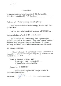 výboru LS PS. I,` - urbarvysnaslana.sk