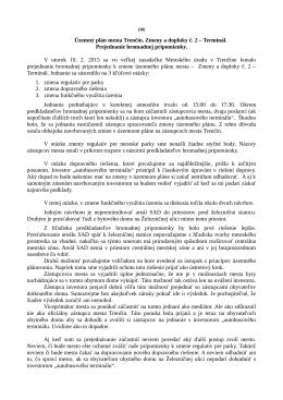 Územný plán mesta Trenčín. Zmeny a doplnky č. 2 - Trenčín-inak