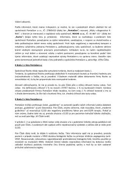 PentaGen odpoved - Roche Slovensko s. r. o.