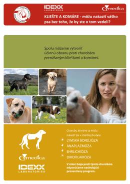KLIEŠTE A KOMÁRE - môžu nakaziť vášho psa bez toho, že by ste o