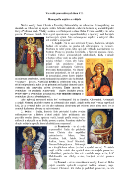 Vo svetle pravoslávnych ikon VII.