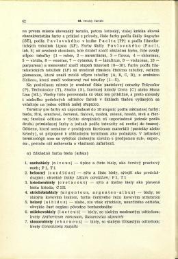 na prvom mieste slovensky termín, potom latinsky, dalej krátka
