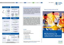 Európska investičná banka Mechanizmus na vybavovanie sťažností