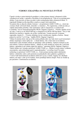 MFS-mlieko - AGRO TAMI, a.s.