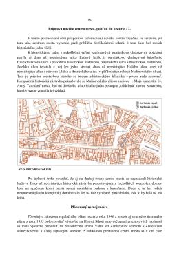 Príprava nového centra mesta, pohľad do histórie - 2 - Trenčín-inak