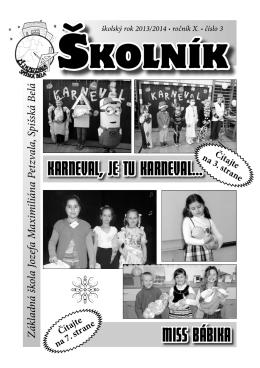 školník školník školník - Základná škola JM Petzvala, Moskovská 20