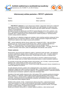 Stiahnite si informovaný súhlas - dokument PDF.