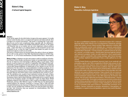 Elaine A. King Elaine A. King - Časopis Profil súčasného umenia
