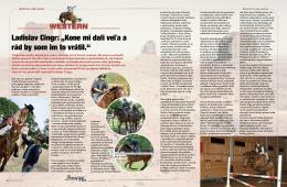 """Ladislav Cingr: """"Kone mi dali veľa a rád by som im to vrátil."""""""