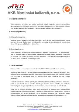 AKB Martinská kaliareň, s.r.o.