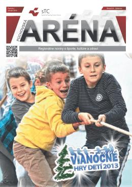 Púchovská Aréna – január 2014 - Sports & Training Centre Púchov