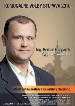 Roman Gašparek Ing.