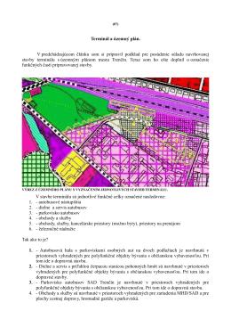 Terminál a územný plán. V predchádzajúcom článku - Trenčín-inak