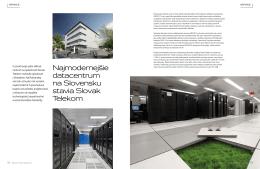 Najmodernejšie datacentrum na Slovensku stavia Slovak Telekom