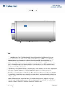 TATRAMAT - Produktovy list pre ohrievače LOVK D.pdf