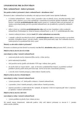 UPOZORNENIE PRE DAŇOVNÍKOV.pdf