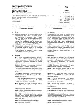 A 04/2014 - LPS SR, š. p.