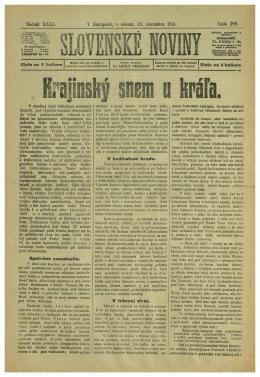líoěmk XXXI. V Budapešti, v sobota, 30. decembra 1916. €islo 299.