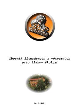 Zborník VL prác 2011-2012 - Základná škola, Považská 12, 040 11