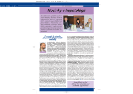 Kompendium medicíny 5., ročník 2011, XVI. Gastrofórum, 25.