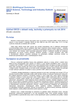 mimeType=application/pdf;OECD Multilingual Summaries OECD Science