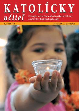 Časopis učiteľov náboženskej výchovy a učiteľov katolíckych škôl