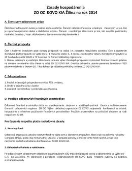 ZÁSADY HOSPODÁRENIA ZO OZ KOVO KIA 2014.pdf