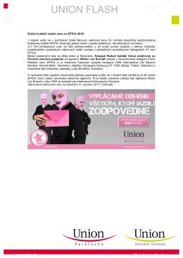 Ružoví kukláči získali cenu na EPICA 2010! V piatok večer sa v