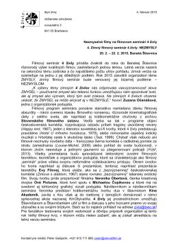 Tlačovú správu na stiahnutie vo formáte .pdf nájdete tu.
