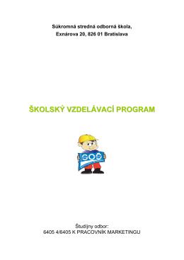 Pracovník marketingu - Súkromná stredná odborná škola Exnárova