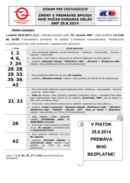 nasledovnými úpravami - Dopravný podnik mesta Banská Bystrica, as
