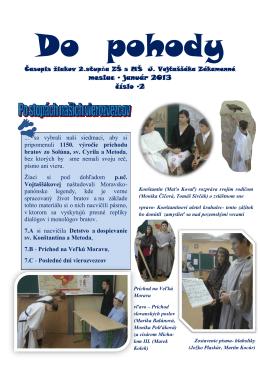 január 2013 číslo -2 - Základná škola s materskou školou Jána