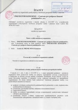Centrum pre podporu činností podnikateľov, n.o.