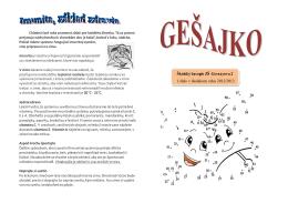Školský časopis ZŠ Gessayova 2 1.číslo v školskom roku 2012/2013