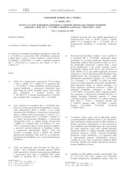 Nariadenie Komisie (EÚ) č. 944/2013 z 2. októbra 2013, ktorým sa