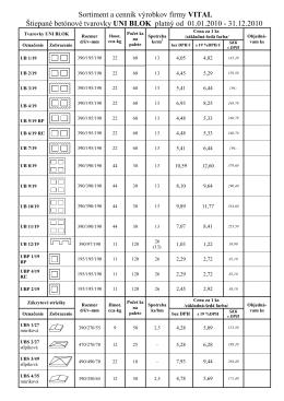 Cennik tvaroviek 1.1.-31.12.2010.PDF