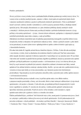 Predslov prekladateľa Slováci poľskými očami je kniha, ktorá z