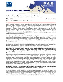 Profil a rozhovor o dopadoch regulácie na trh platobných kariet