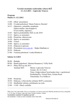 Výbor SEZ 11.-12.3.2011 Program.pdf