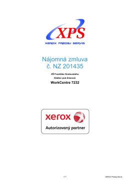 Nájomná zmluva č. NZ 201435 - ZŠ Františka Hrušovského, Kláštor
