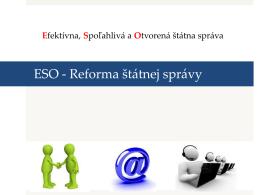 Program ESO, Mgr. Zuzana Barboríková, riaditeľka odboru miestnej