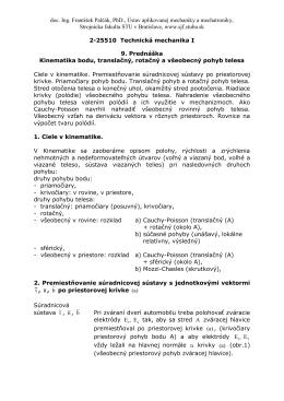 doc. Ing. František Palčák, PhD., Ústav aplikovanej mechaniky