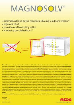 mailing (PDF) - Meda Pharma spol. s r. o.