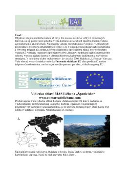 Vidiecka oblasť MAS Liebána - Španielsko.pdf