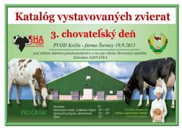 Katalog zvierat Kocin 2013_web - Slovenská holsteinská asociácia
