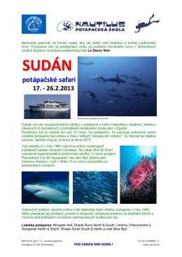 Sudan 2013 LeBaronNoir - Nautilus spol. s r.o.