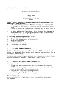 Cordipin retard 20 mg tablety s predĺženým uvoľňovaním , PIL.pdf