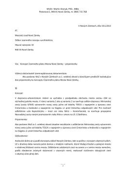 MUDr. Martin Starzyk, PhD., MBA, Platanová 5, 940 01 Nové Zámky