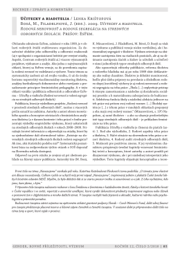 Učiteľky a riaditelia / Lenka Krištofová Bosá, M., Filadelfiová, J. (eds